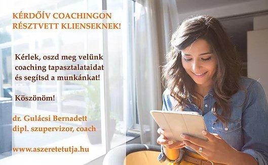 kérdőív coaching klienseknek