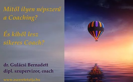 Mitől népszerű a coaching?